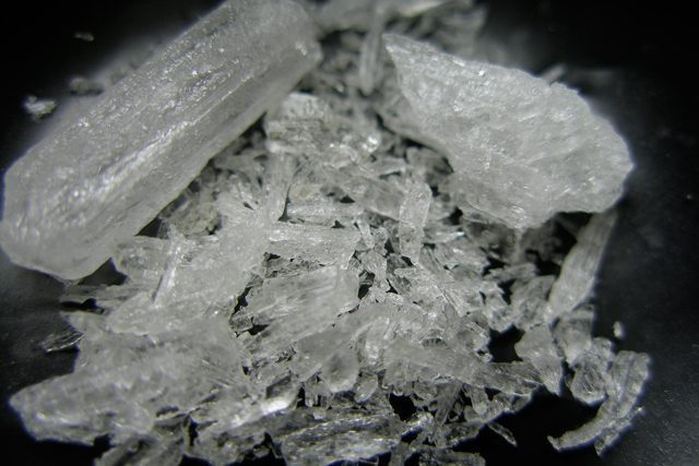 """""""Ice,"""" a highly potent form of methamphetamine that is more addictive than speed or ecstasy."""