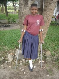 Mofa Mbalahenya is a resident of the Mbagala Girls' Home in Tanzania, an adopted child of the territory's.