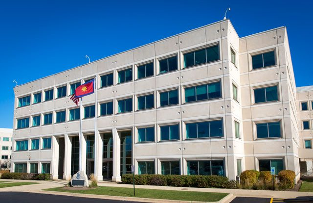 The new USA Central Territorial Headquarters building is 193,000-square-feet.