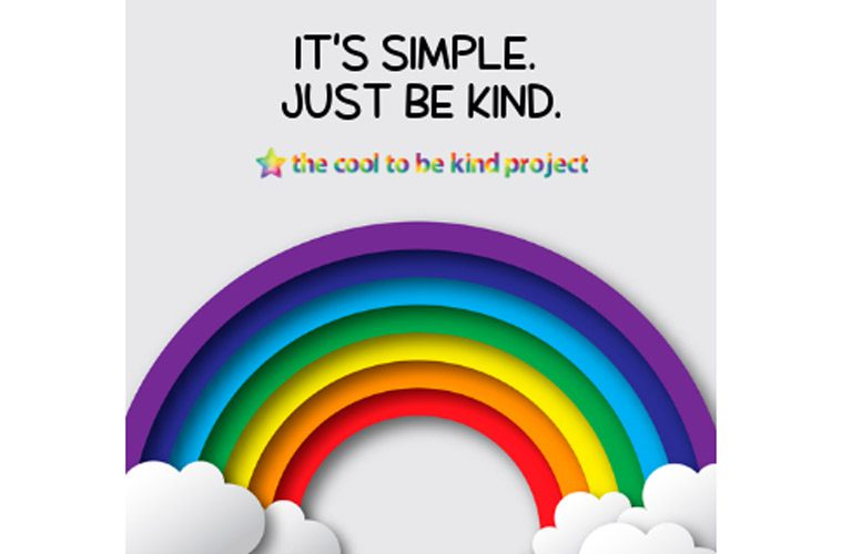 Cool To Be Kind project logo and tagline