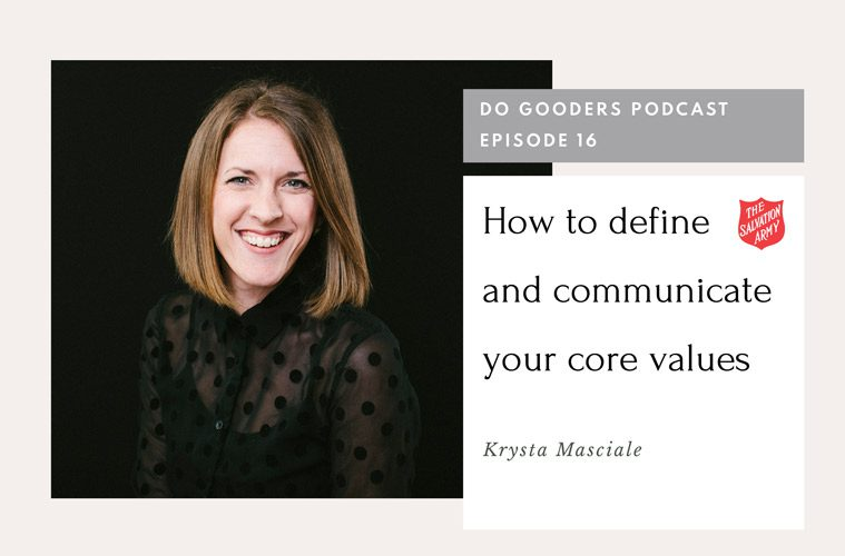 How to Define and Communicate Core Values Krysta Masciale