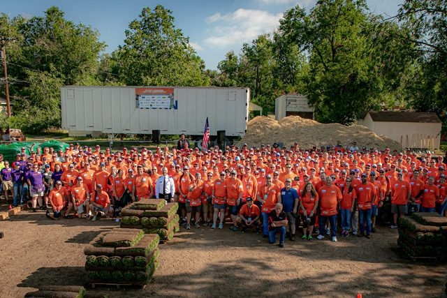 Home Depot foundation builders