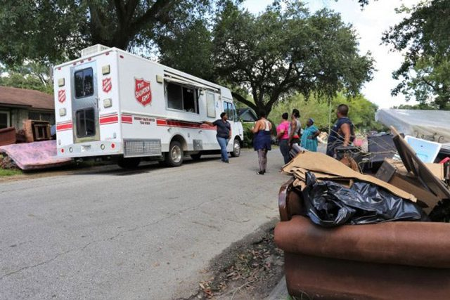 EDS providing relief for Imelda flood victims