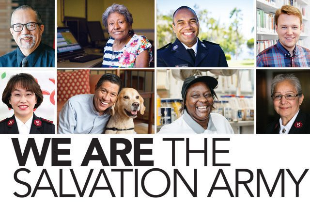"""Cover of """"We Are The Salvation Army"""" Book"""
